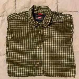 Wrangler Wrinkle Resistant Button Up Shirt